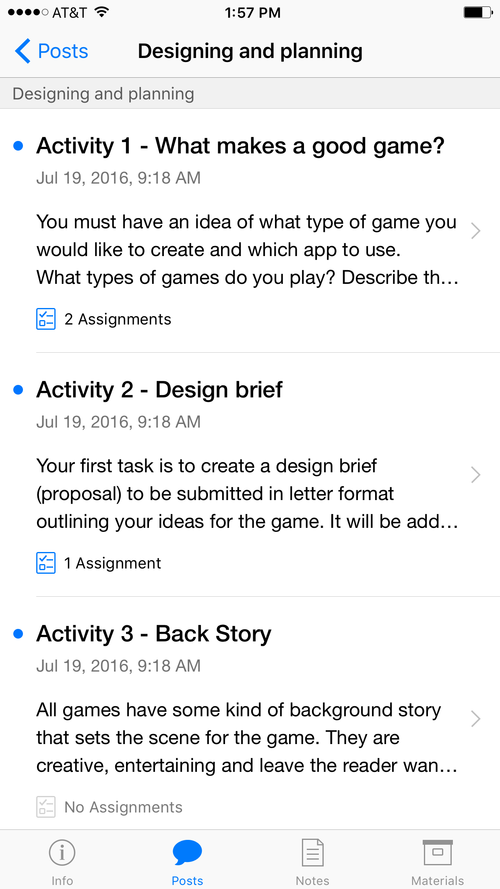 ITunesU Course Engaging Writers With Bloxels Bloxels - Game design brief