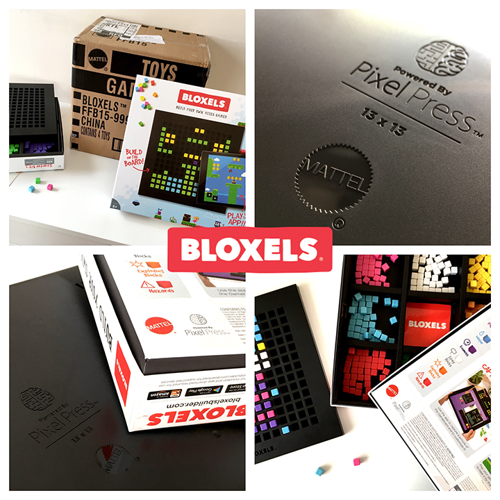 The new Bloxels packaging design.
