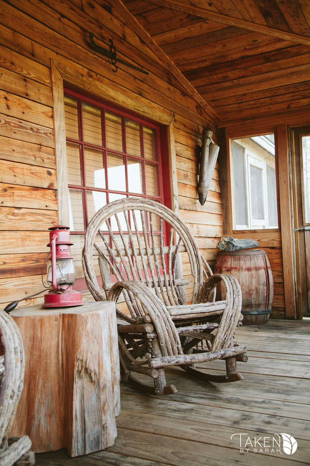The Cabin at Hidden Acres | Taken by Sarah Photography