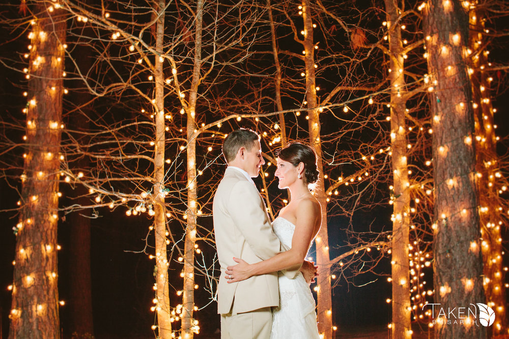 The Ceremony Pond at Hidden Acres | Taken by Sarah Photography