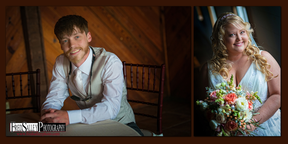 Hidden Acres Real Wedding | Kristin & Tyler | Fred Salley Photography