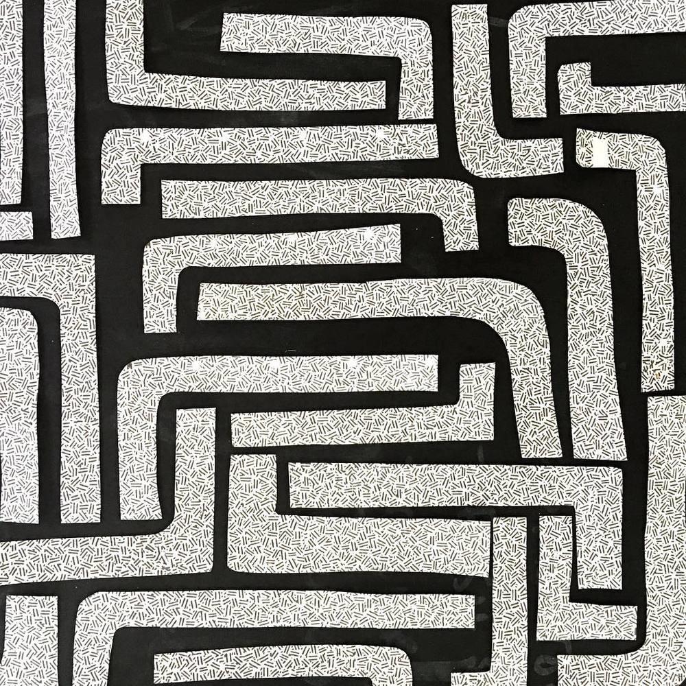 ink and indigo, emily mann, pattern play 4, collaged security envelopes, modern collage.jpg