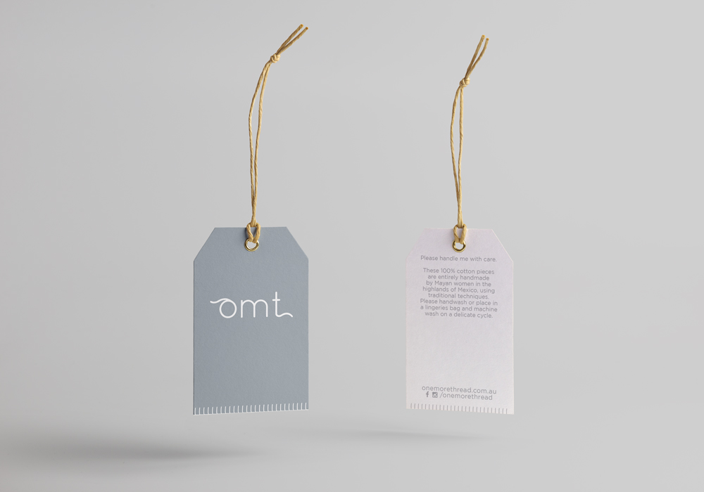 one more thread swing tags