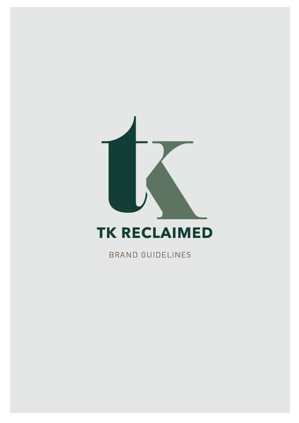 TK Reclaimed brand guidelines