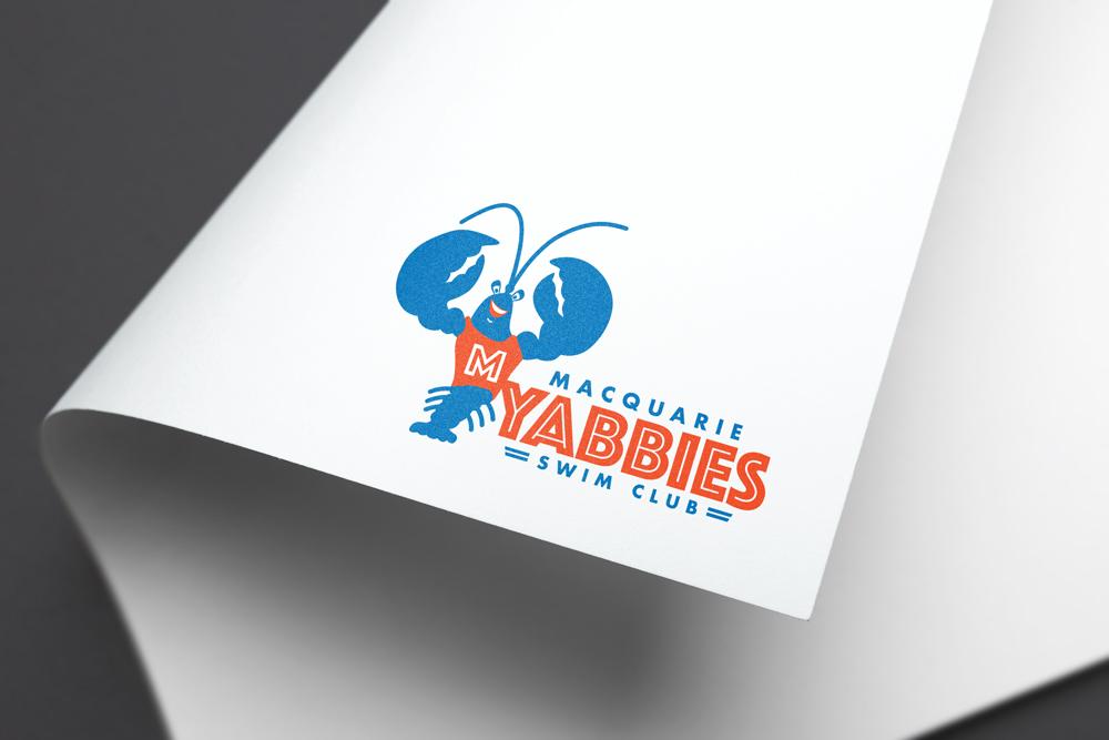 Macquarie Yabbies Swim Club logo