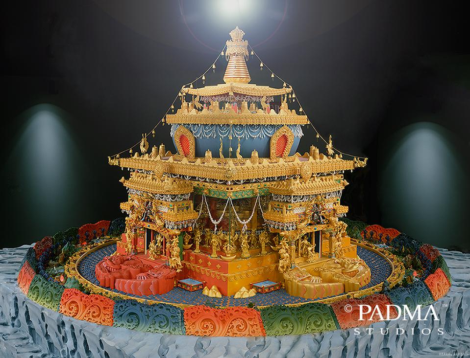 Shi-Tro Mandala by Pema Namdol Thaye