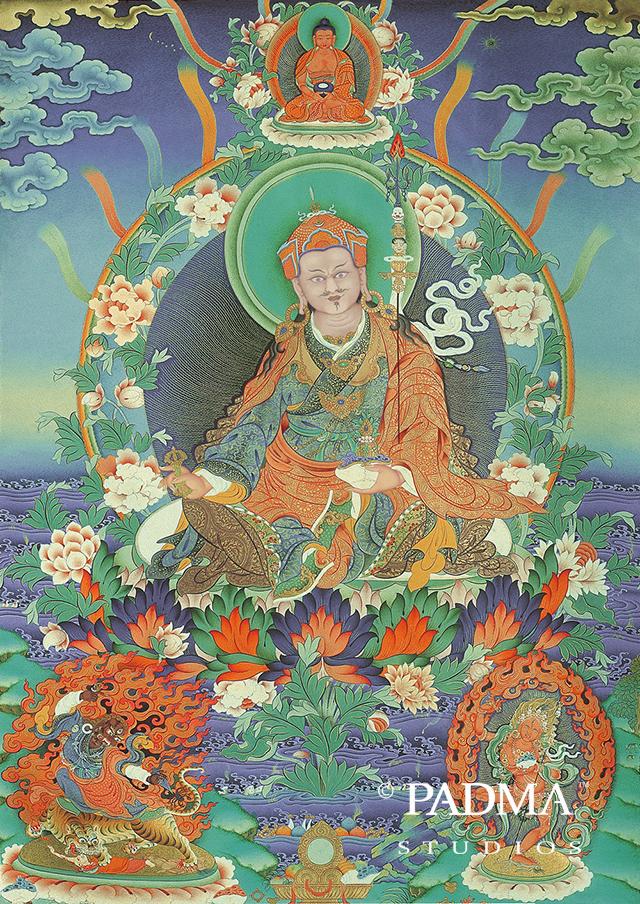 Guru Padmasambhava Triad
