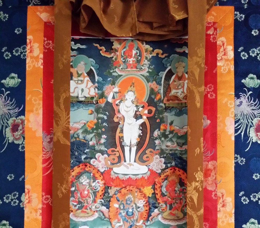 Khandro Yeshe Tsogyal thanka