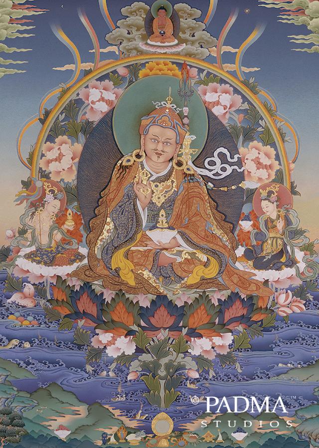 Guru Padmasambhava Thanka