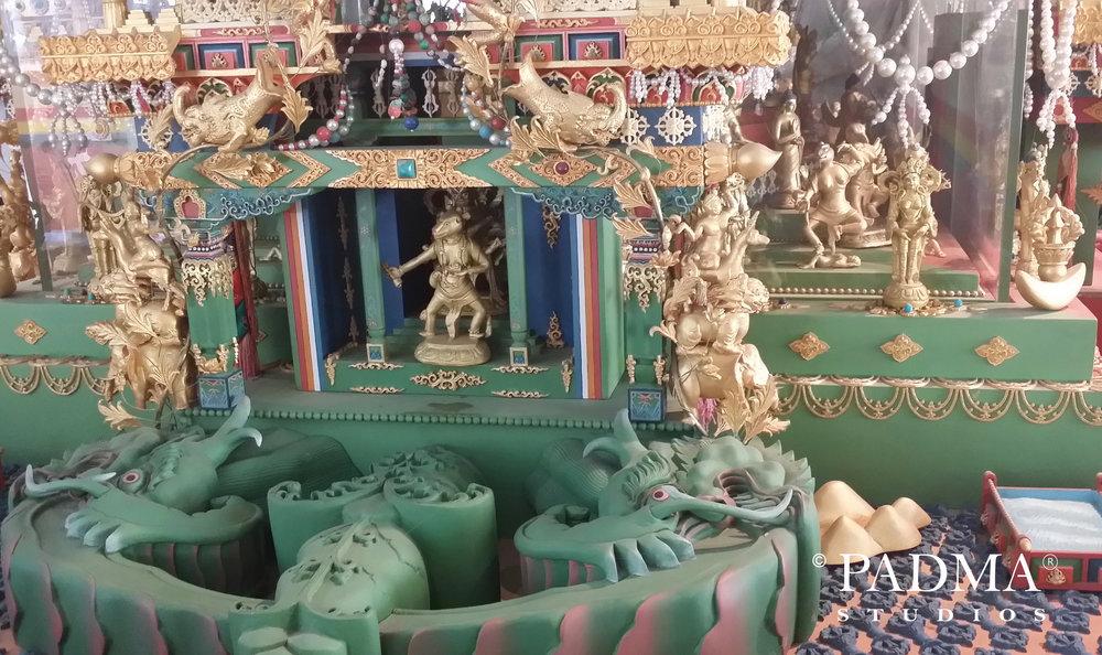 Close-up of Shi-Tro Mandala