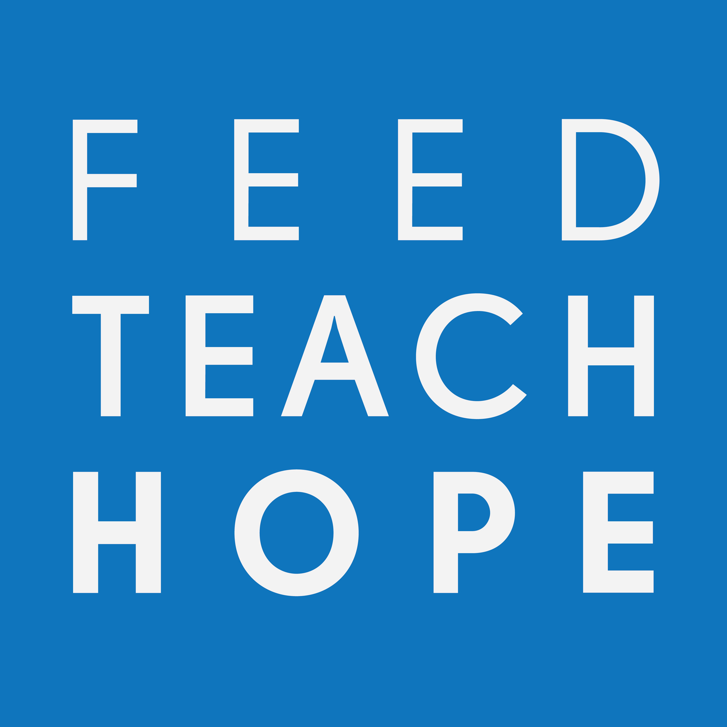 Feed. Teach. Hope.