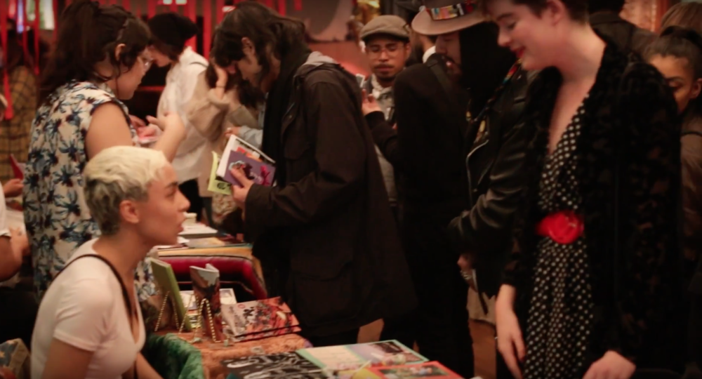 La Liga Zine Fest at Starr Bar, New York.