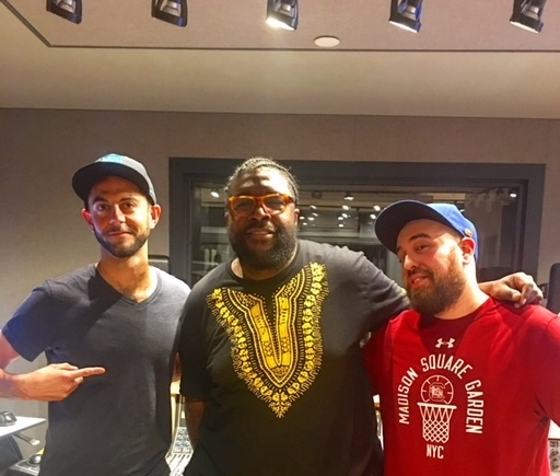 with Questlove & Dan Rovin of GSI studios