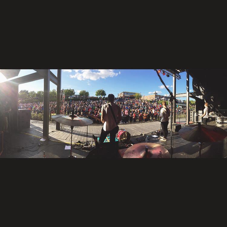 September 13th, 2015.Rock on Water Festival. Jeffersonville, Indiana.