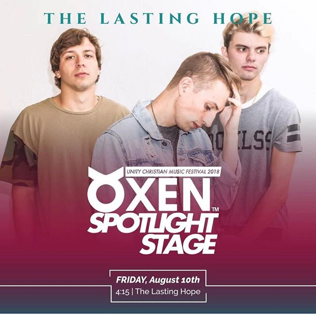 This Friday is our debut at Unity Festival! Thanks to @oxenapparel for putting this on!