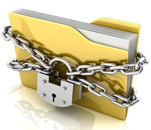 locked document file