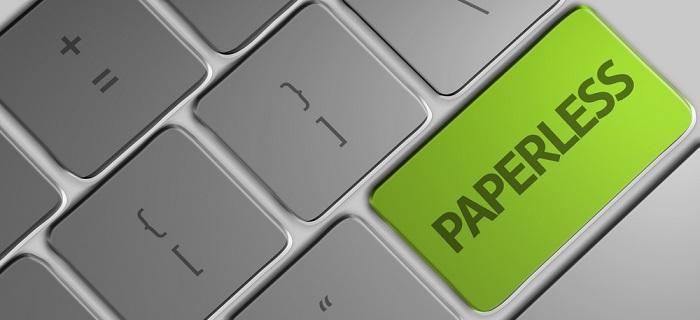 paperless computer key