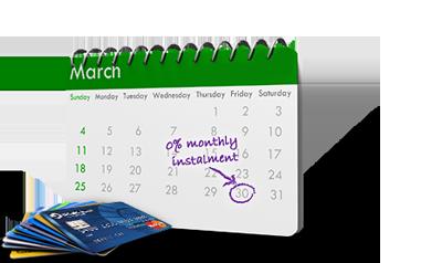 installment payment calendar