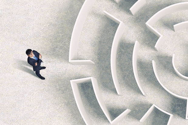 professional man labyrinth