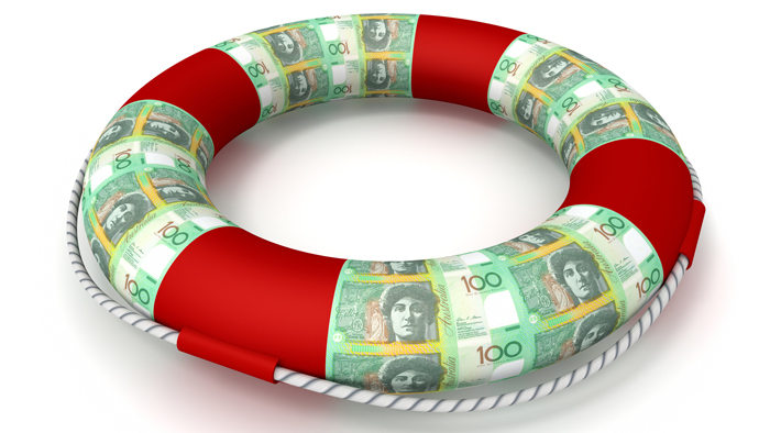 australian dollar lifesaver