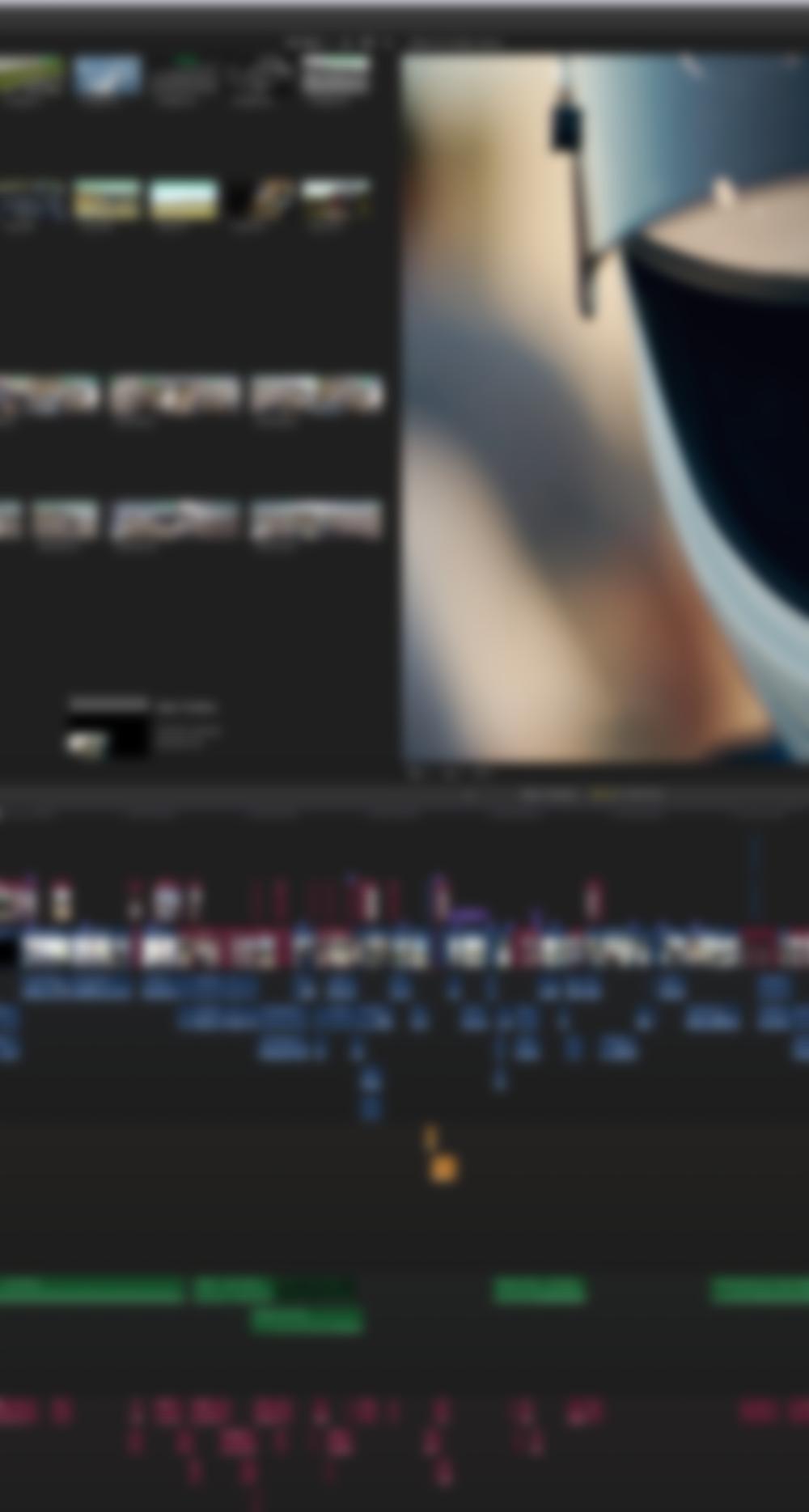 Editing -