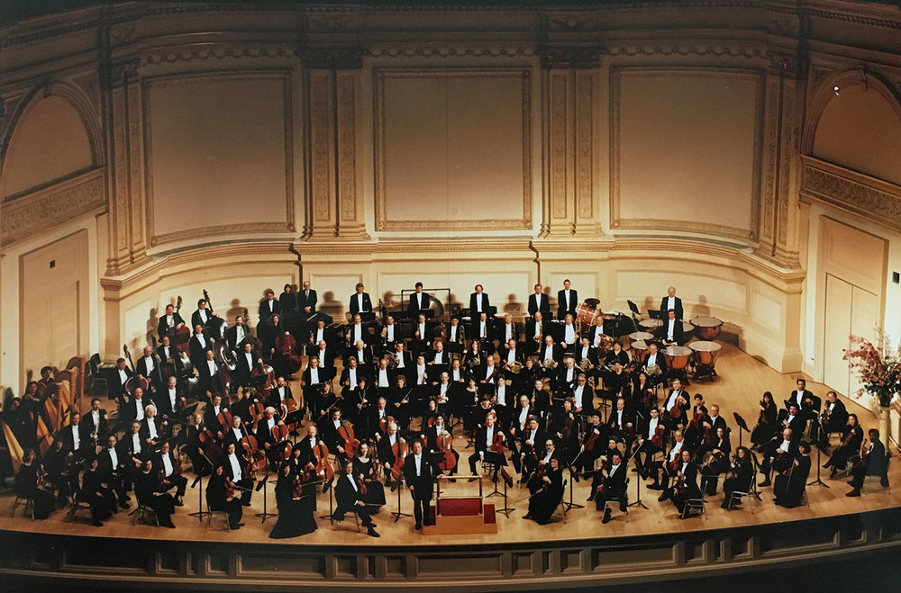 MET Orchestra in Carnegie Hall