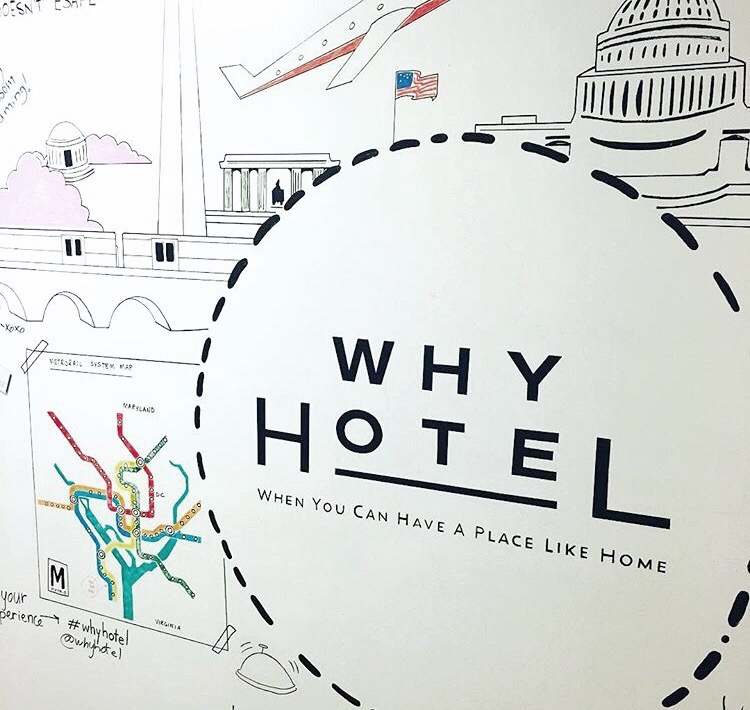 Interactive Whiteboard for Why Hotel