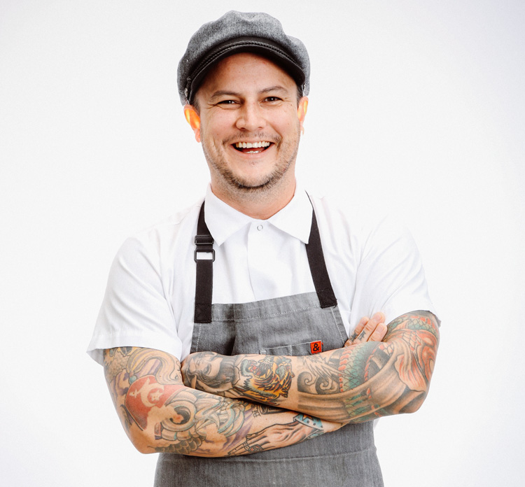 The Cannery's chef Nick Weber