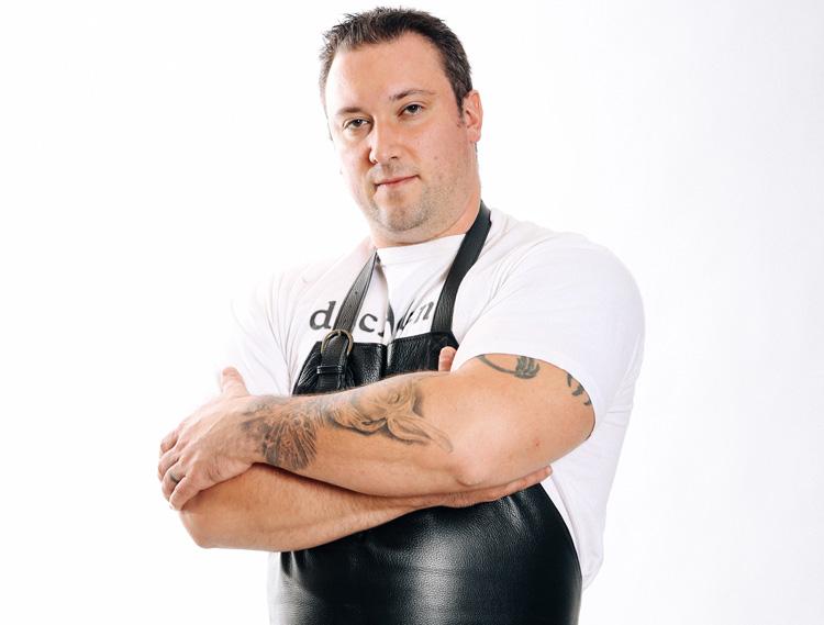 A Restaurant Executive Chef Jonathan Blackford