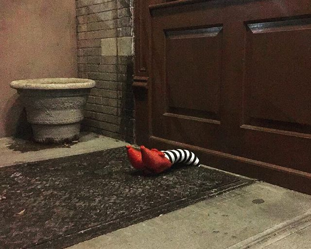 Leftovers | South Slope | by @emmapratte #rubyslippers #leftovercandy #stripes