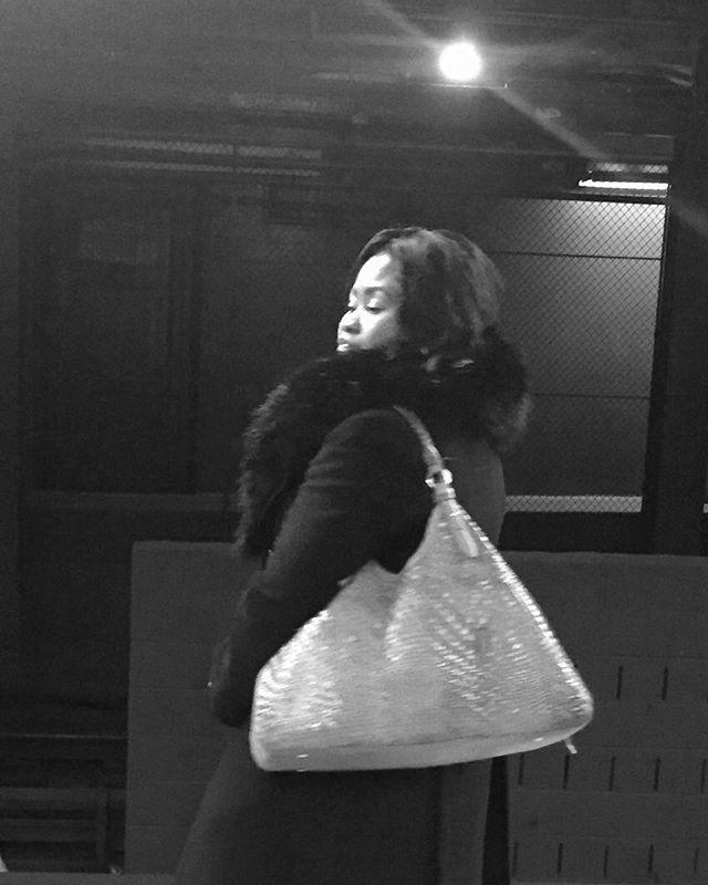 An 11 o'clock number | Hoyt-Schermerhorn | by @emmapratte  #thedrama #bag #spotlight