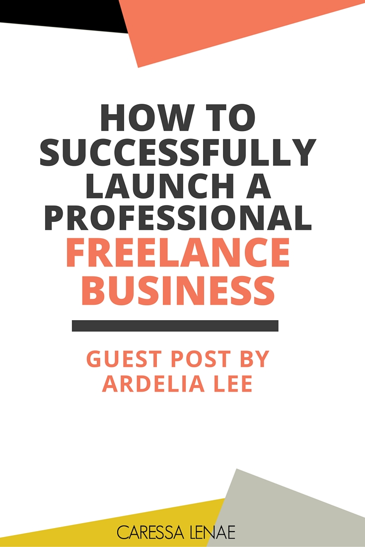 WOW! A complete guide to launching a professional freelance business successfully before landing your first client via @CaressaLenae http://bit.ly/ArLee by @ArdeliaMLee