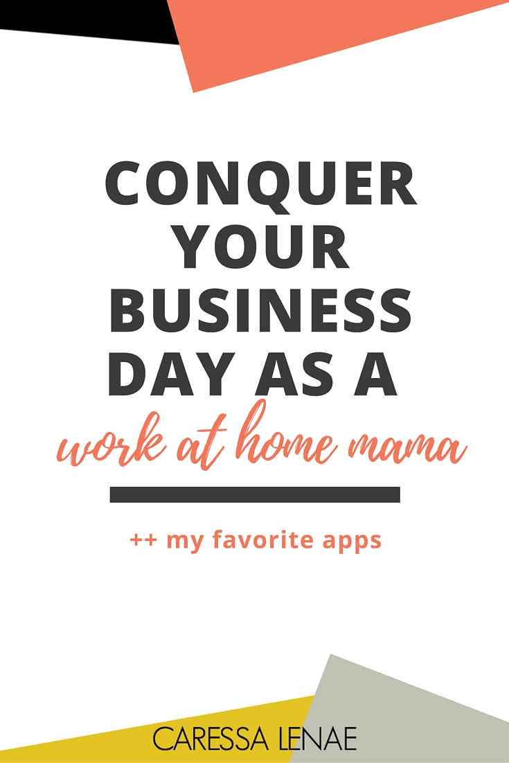 Ready to face your business and your toddler in the face and conquer your business day as a work at home mama? Read how I do it all from one device. Via   @CaressaLenae