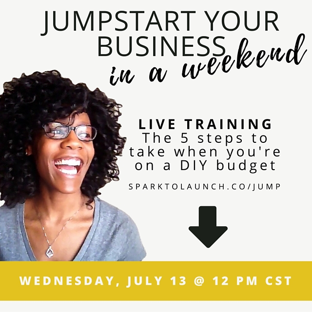 jumpstart your business in a weekend live training