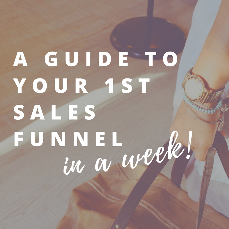 """I am ready to design a funnel to get my audience to subscribers & clients or customers."""