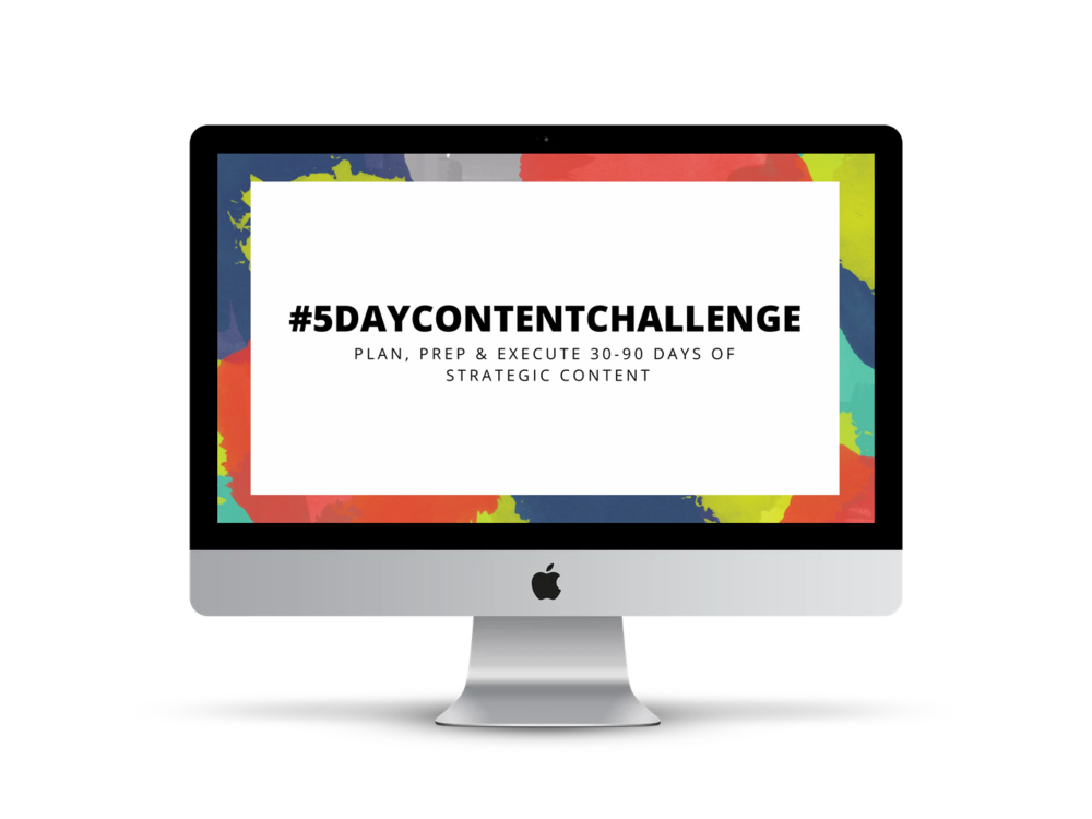 5-day-content-challenge-workbook