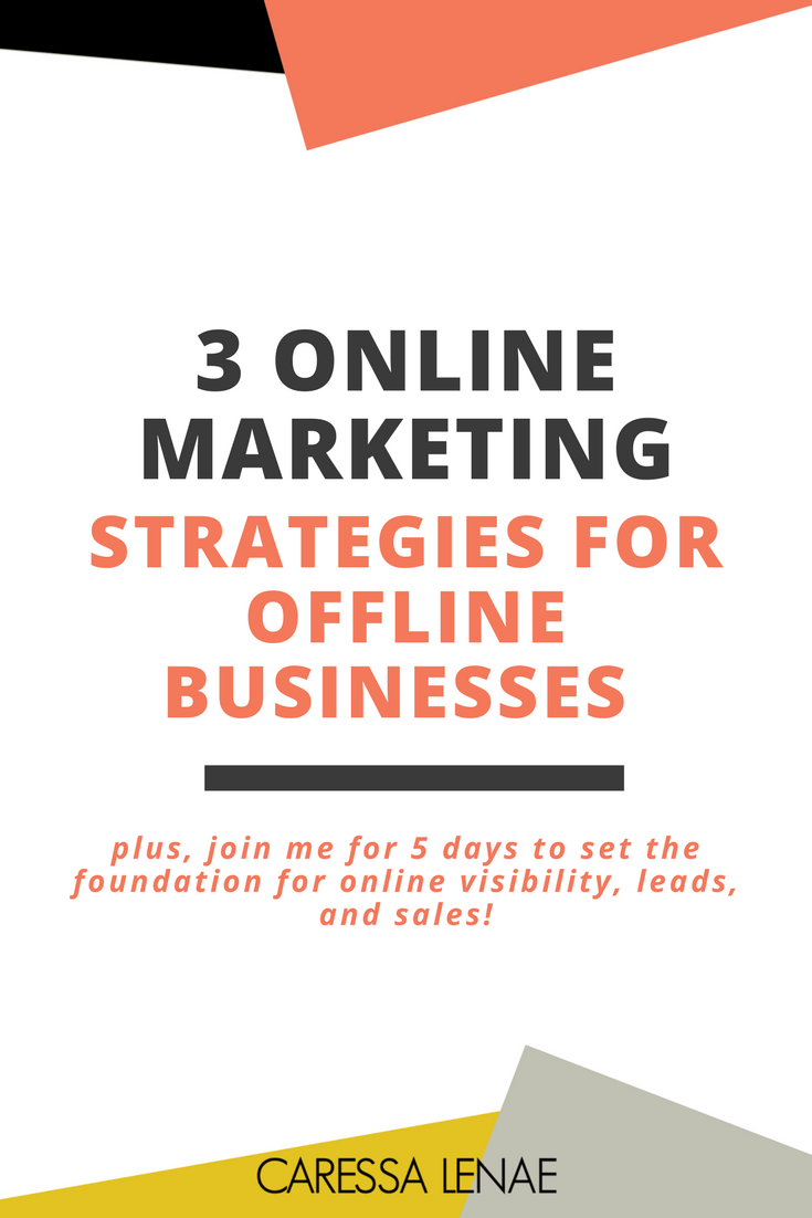 Hey, offline and brick and mortar business owner! I know expanding your business online can be a challenge. So here's 5 myths to weed out the lies and uncover the truth to online visibility, leads and sales. Don't let digital marketing stop you from doubling your income via @CaressaLenae
