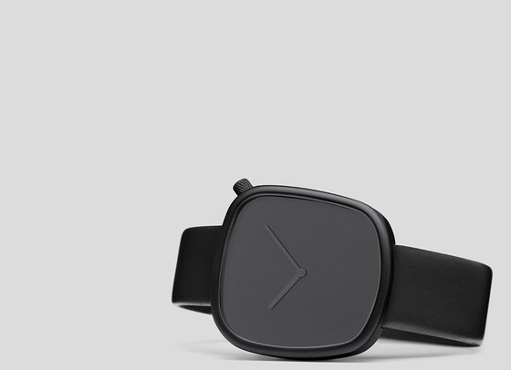 SHOP THE ultra-modern AVANT GARDE MINIMALISTIC WATCHES  -  The Bulbul Pebble Debut Watch