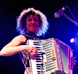 Claire O'Meara - piano & piano accordion