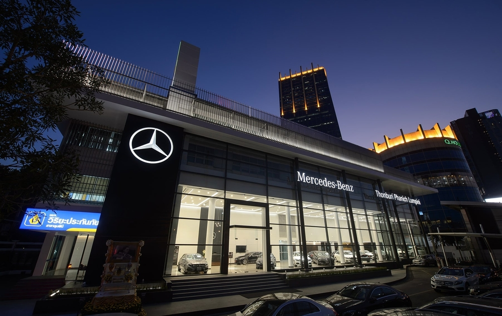 Mercedes Benz Showroom, Bangkok, Thailand