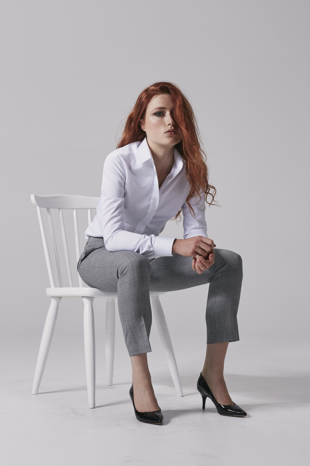Ladies white business shirt Ladies pants.jpg
