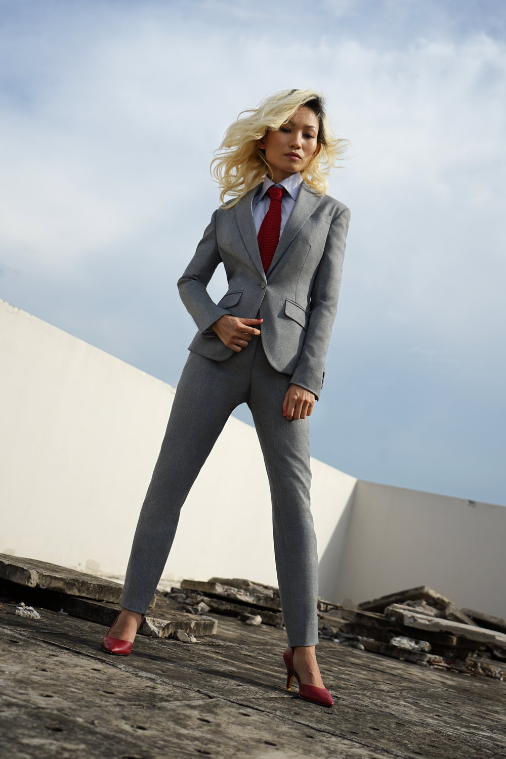 light grey suit red tie and heels (1).jpg