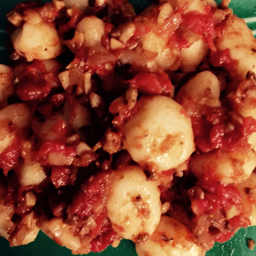 Tomato & Mushroom Gnocchi