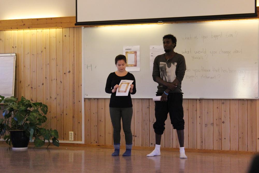 Portrett Presentation