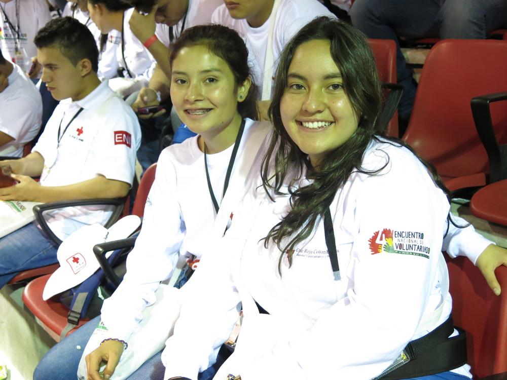 Voluntarias de Cundinamarca, Bogotá. Volunteers from the Cundinamarca Branch, Bogotá