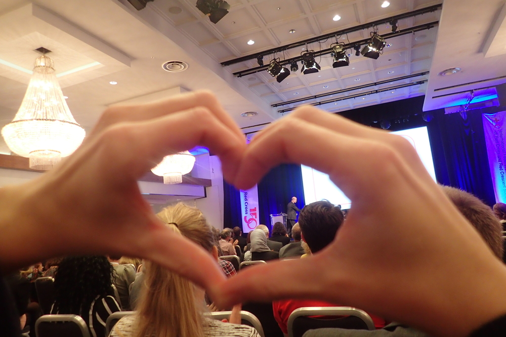 We <3 our Red Cross President, Sven Mollekleiv