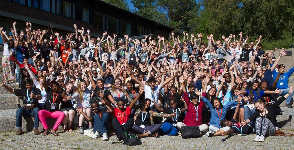 FK Norway youth camp for exchanged participants around the world, August 2015