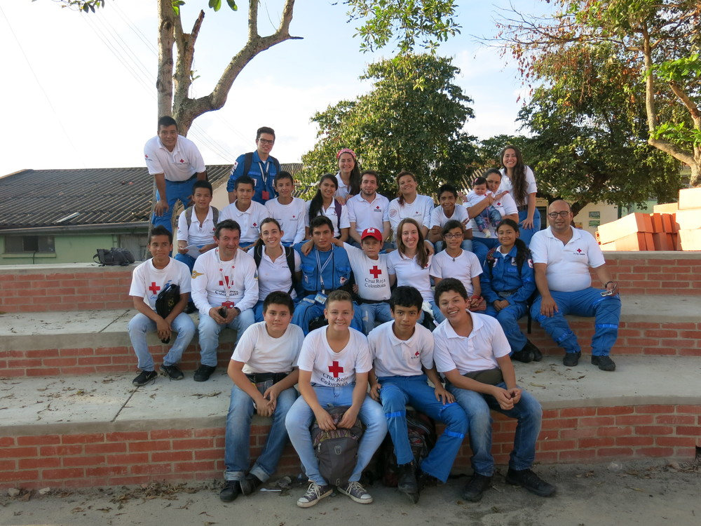 Los voluntarios de La Mesa / The Volunteers from La Mesa