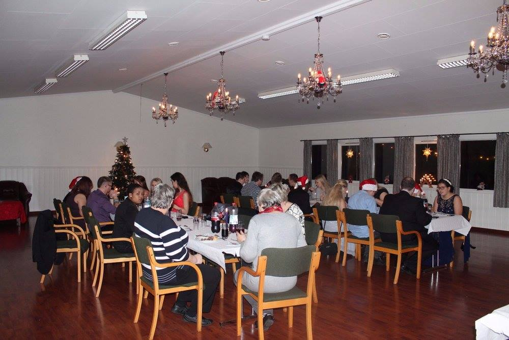 Thirty volunteers participated on Christmas celebration in Karmøy