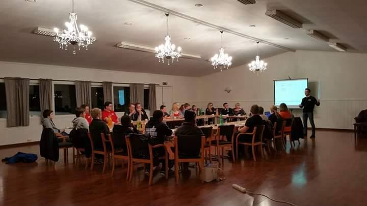 Annual general meeting for Karmøy Cross'' local branch